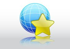 bookmark wyszukiwarka ilustracja wektor