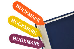 Bookmark your book stock images