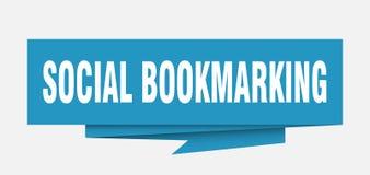 bookmarking sociale illustrazione vettoriale