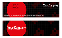 Bookmarks advertising. Ready for printing Stock Photography