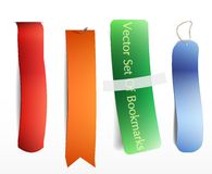 Bookmarks icon set Royalty Free Stock Photography
