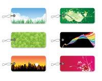bookmarks pomysł naturalnego Ilustracji