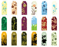 Bookmarks set Stock Photography
