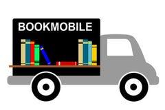 Bookmobile delle biblioteche illustrazione di stock