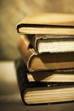 Books. Sepia toned image of stacked books Royalty Free Stock Photo