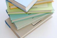 Books. Colourful books Royalty Free Stock Photos