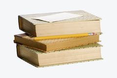 Books. Old Library Books stock photos
