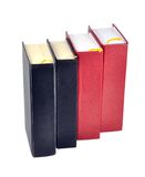 Books. Against white with clipping path Stock Images