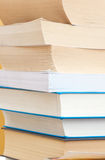 Books. Stack of books on a desk Royalty Free Stock Photography