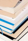 Books. Stack of books on a desk Stock Image