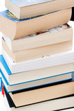 Books. Stack of books on a desk Royalty Free Stock Photo