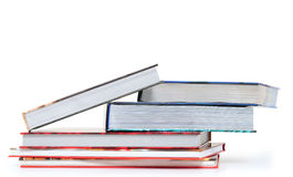 Books. Overlapped series of thick books Royalty Free Stock Image