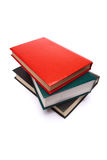 Books. Isolated on wnite background Royalty Free Stock Images