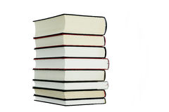 Books. Different books on a white background Royalty Free Stock Photography