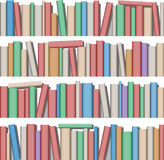 Books. Lots of Books on Shelf Royalty Free Stock Image