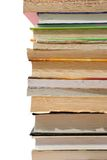 Books. Old books on white background Royalty Free Stock Photography