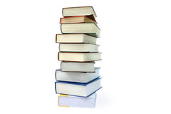 Books. Isolated books on a white background Stock Image