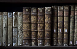 Books. Old books from old library royalty free stock photography