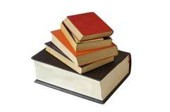 Books. Isolated on white background Royalty Free Stock Photos