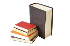 Books. Isolated on white background Stock Images