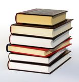 Books. Isolated on white background with a clipping path Royalty Free Stock Image