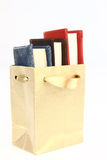 Books. In a paper bag Royalty Free Stock Photography
