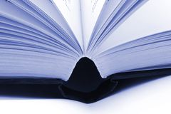 Books. Stack of books against a white background royalty free stock photos