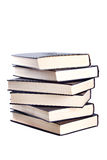 Books. The big pile lie on a white background Stock Images