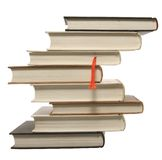 Books. Close up of hardcover books for background Royalty Free Stock Photos