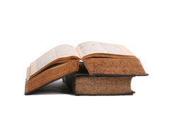 Books. Two dictionaries in the German language stock images