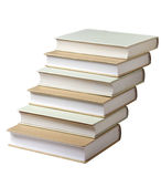 Books. Isolated on a white background Royalty Free Stock Image