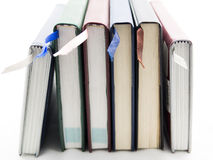 Books. On white Background stock photography