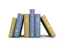 Books  3D illustration Stock Photos