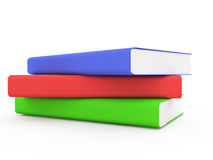 Books. 3D render Royalty Free Stock Photography