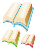 Books. Vector illustration. The stack of books Stock Photo