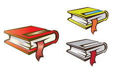 Books. Vector illustration. The stack of books Royalty Free Stock Images
