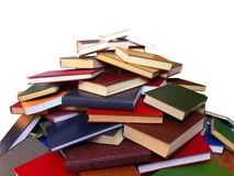Books. Dumped in greater heap Stock Photos
