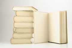 Books. Isolated on a white background Stock Photo