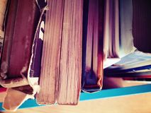 Books from above Royalty Free Stock Photo