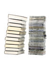Books And CD Stock Images