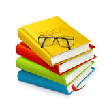 Books And Glasses Royalty Free Stock Image