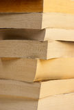 Books angle Stock Image