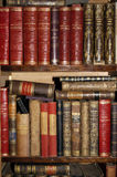 Books, antique,an ancient library Royalty Free Stock Photo
