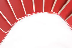 Books in arc design Stock Images