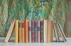 Books arrangement Royalty Free Stock Photos