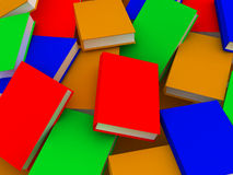 Books background Stock Photography