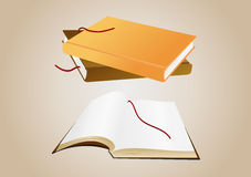 Books with background Stock Images