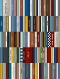Books background. Realistic  illustration Stock Photos