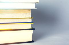 Books bakgrund Arkivbilder