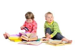 books barn Royaltyfri Foto